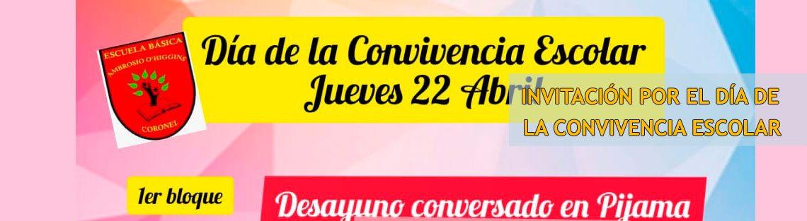 Invitación Día de la Convivencia Escolar